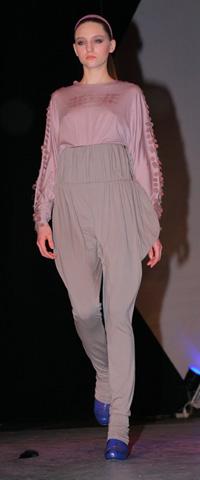 Комплект - блуза и слаксы